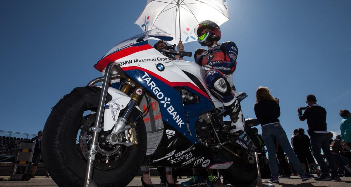 Scheib y Barragán, primero y segundo en la clasificación provisional del Europeo de Superbike