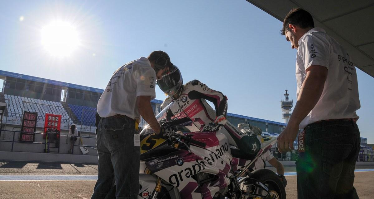 Javi del Amor y el Graphbikes EasyRace SBK Team buscarán ampliar su racha en Montmeló
