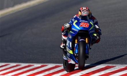 Viñales y Suzuki cuartos en Catalunya