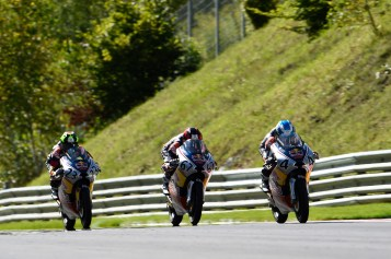 SPIELBERG,AUSTRIA,14.AUG.16 - MOTORSPORTS, MOTORBIKE - Red Bull Rookies Cup, Grand Prix of Austria, Red Bull Ring. Image shows Patrik Pulkkinen (FIN). Photo: GEPA pictures/ Gold and Goose/ Gareth Harford - For editorial use only. Image is free of charge.