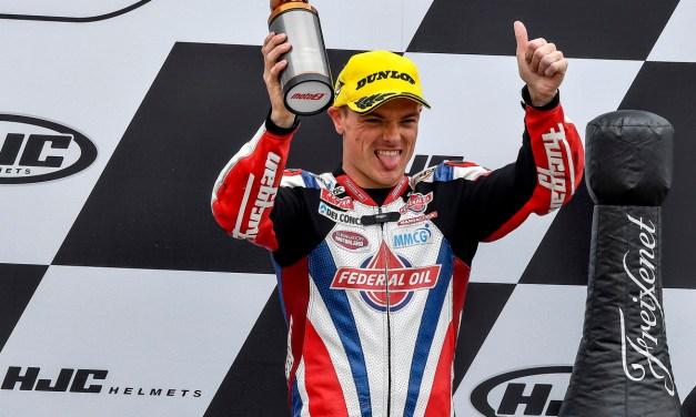 Sam Lowes vuelve al podio con lluvia, en la carrera del Circuito de Brno