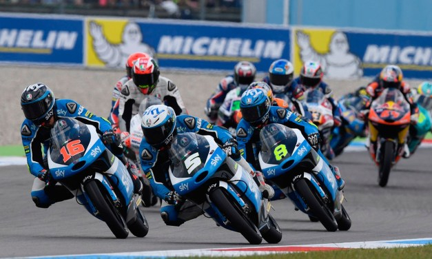 El Team Sky Racing VR46 a descubrir el Red Bull Ring