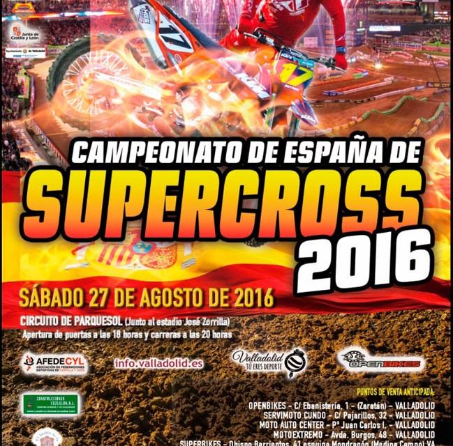 Valladolid acogerá la cuarta cita del nacional de Supercross