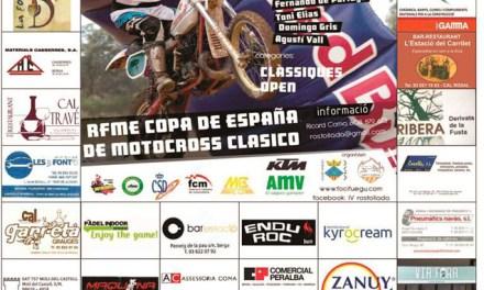 Avià acoge la cuarta cita del nacional de Motocross Clásico