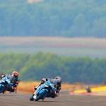 Navarro y Canet acumulan más kilómetros en Aragón para preparar el final de temporada