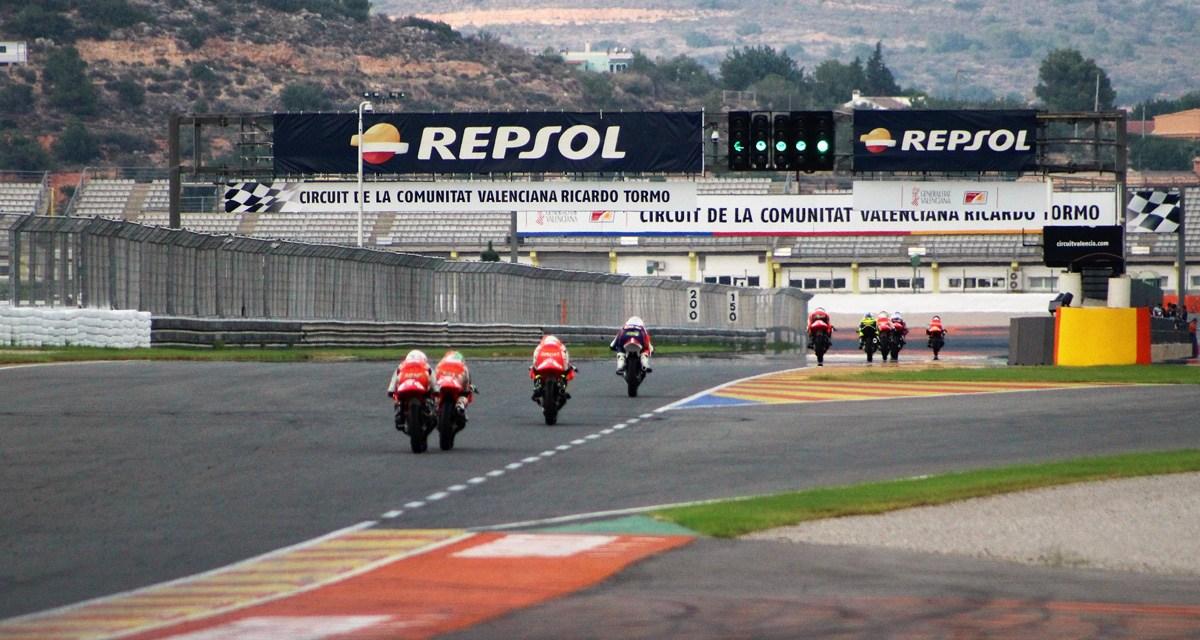 El RFME CEV llega al Circuit de la Comunitat Valenciana Ricardo Tormo , fortín de la Cuna de Campeones