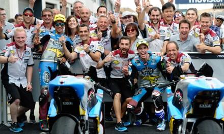 Sensacional doble podio para el Team Estrella Galicia 0,0 Marc VDS en Aragón