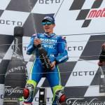 Maverick Viñales gana en Silverstone