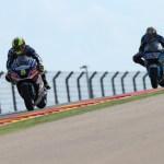 Los pilotos de Avintia Racing completan una carrera complicada en Aragón