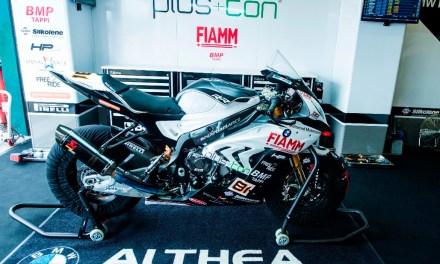 El equipo Althea Racing BMW regresa de las vacaciones
