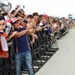 Pit lane walk abierto al público durante el Gran Premio Movistar de Aragón de MotoGP