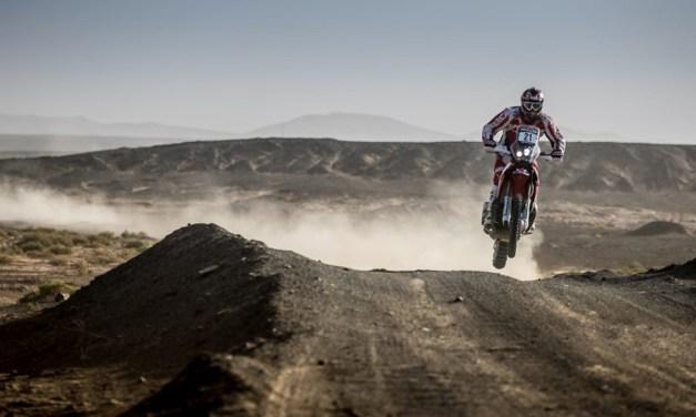 El Team HRC termina el Rally de Marruecos
