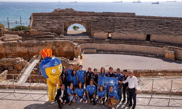 Los pilotos Repsol, con los Juegos Mediterráneos Tarragona 2017
