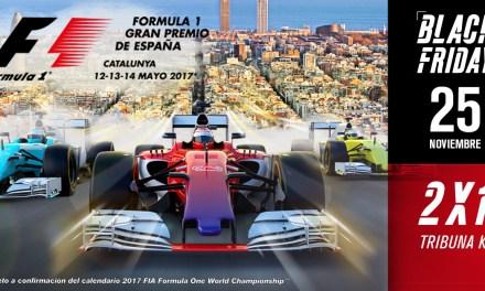 El Circuit celebra el Black Friday con un 2×1 en entradas para el GP de F1 2017