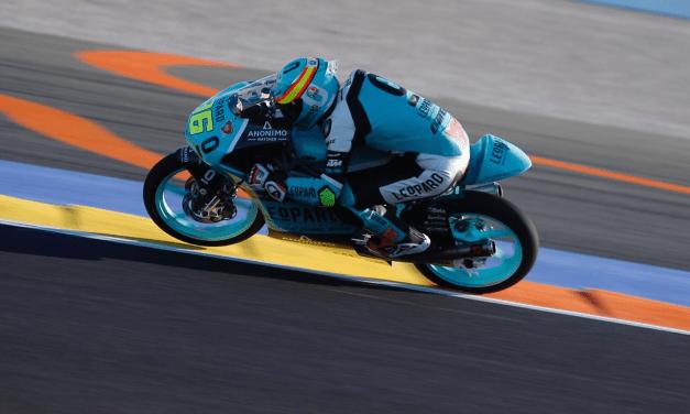 Binder gana como campeón de Moto3 en Valencia