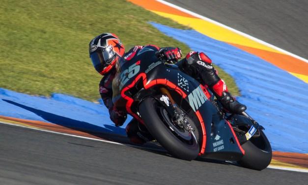Viñales cierra los entrenamientos con el mejor tiempo en el Circuit Ricardo Tormo