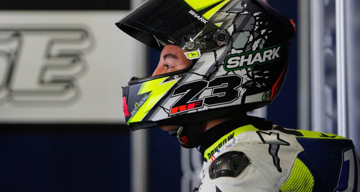 Raúl Fernández sustituye a María Herrera en el Gran Premio de Valencia