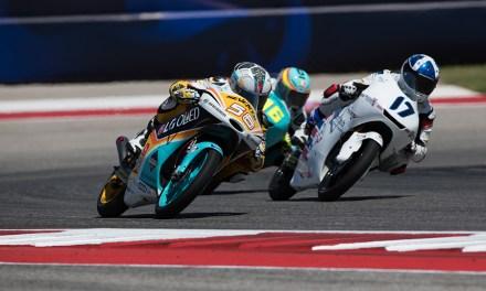 Guevara remonta hasta la sexta posición en la carrera de Austin, Rodrigo roza el Top-10