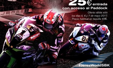 Las entradas de WSBK en el Mundial de MotoGP de Jerez