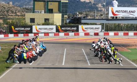 Las Vespas, protagonistas del fin de semana en MotorLand Aragón