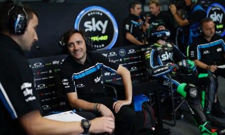 EL Team Sky Racing VR46 en Le Mans