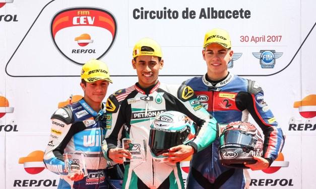 Augusto Fernández y el easyRace Moto2 Team empiezan la temporada desde el podio