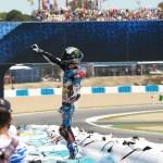 Márquez logra su primera victoria en Moto2 en su carrera de casa