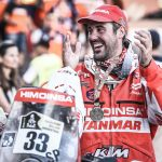 Antonio Gimeno se despide del HIMOINSA Racing Team