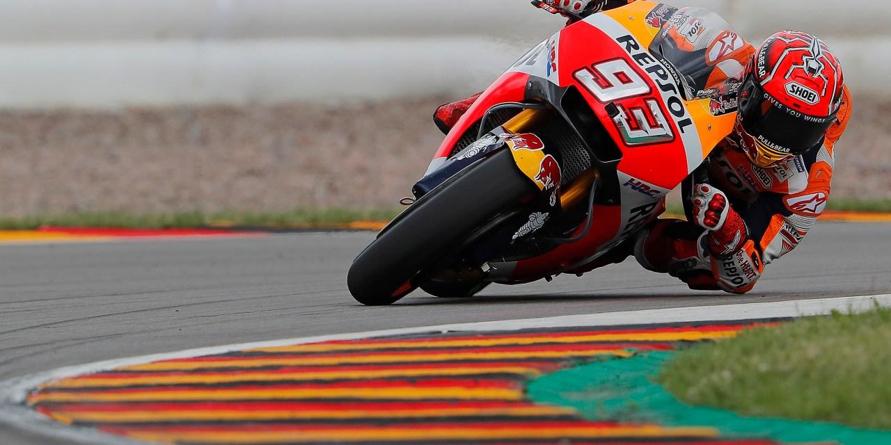 MotoGP Sachsenring: quinta victoria consecutiva de Marc Márquez