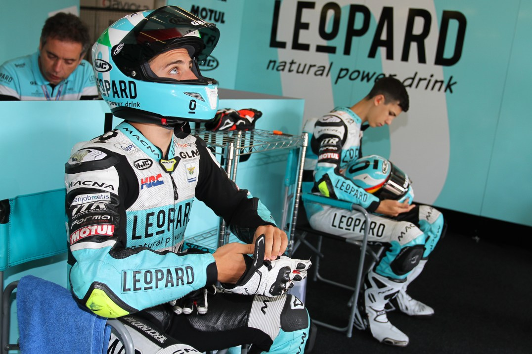 Aarón Polanco, Stefano Nepa, Leopard Junior Team