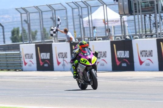 Carmelo Morales, Circuito Motorland Aragón, RFME