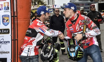 Doble pódium del Monster Energy Honda Team en el Atacama Rally