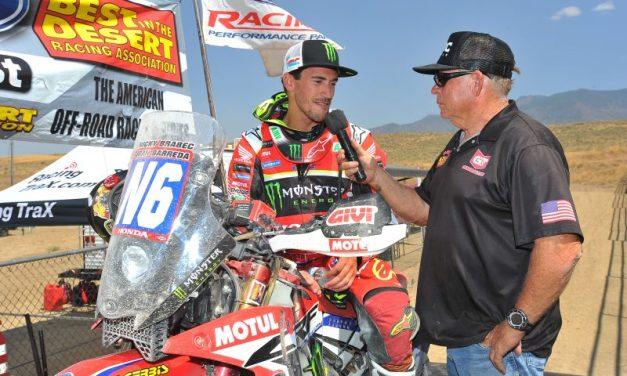 Barreda y Brabec ganan la Vegas-Reno 2017