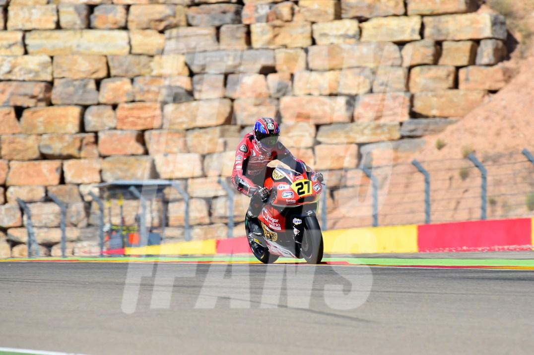 Joe Roberts, Teammotofans.com, #YD, Circuito Motorland Aragón, Moto2,