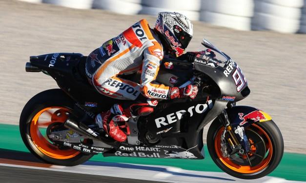 Los pilotos Repsol Honda, los más rápidos en la última jornada de test