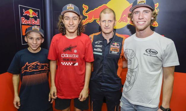 Nuevo proyecto de Moto3 para 2018 del Red Bull KTM Ajo