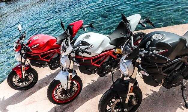 Ducati lista para celebrar el 25º aniversario de la Monster