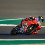 El Ducati Team, listo para la primera carrera del Mundial de MotoGP 2018 en Qatar.