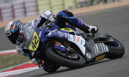 David Checa y el Team Yamaha Stratos preparados para luchar por la victoria en Albacete