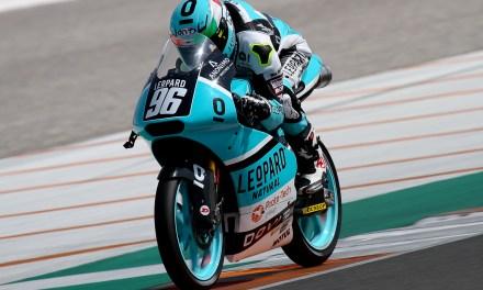 Cuarta posición de parrilla para Manuel Pagliani en el Circuit de Valencia