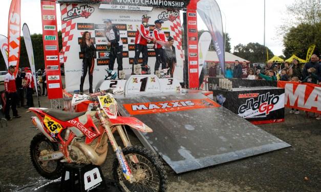 Victoria y podio en E3 para GasGas en Santiago de Compostela
