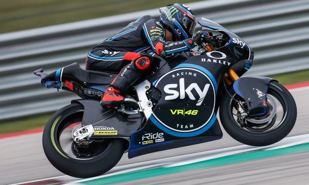 Triunfo en Moto2 para Pecco Bagnaia en el Circuito de Las Américas