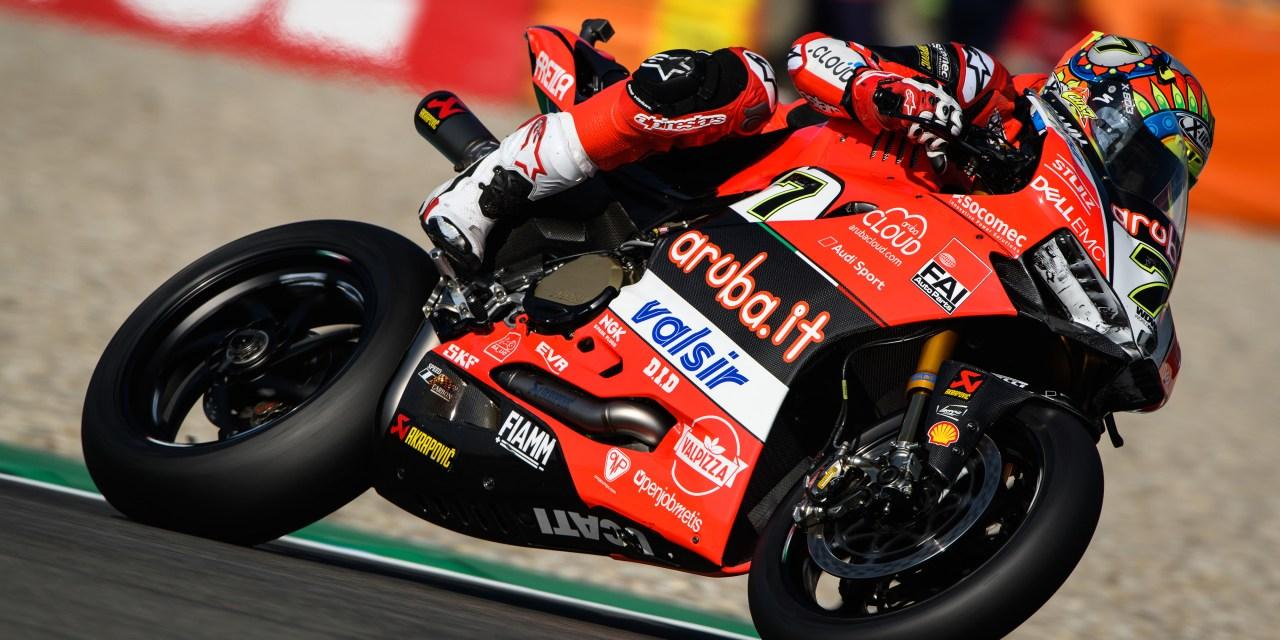 El Aruba.it Racing – Ducati concluye una prueba privada de dos días en Brno