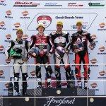 Doble podio para el easyRace Moto2 Team en Valencia