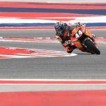 Oliveira es el más rápido el viernes en Austin
