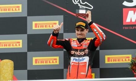 Racing Aruba.it: Chaz Davies segundo y Marco Melandri cuarto en Motorland Aragón