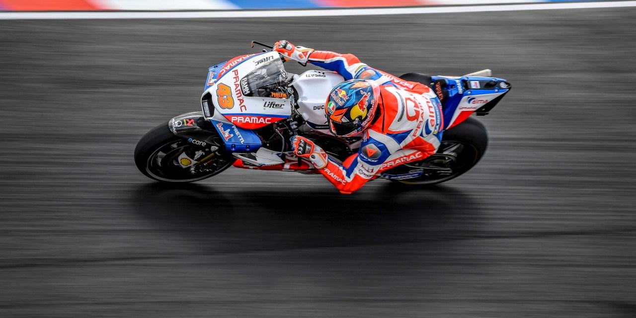 Top 15 para el Alma Pramac Racing con Miller y Petrucci