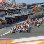 Victorias de Sergio García y Raúl Fernández en el Mundial Júnior de Moto3 en Valencia