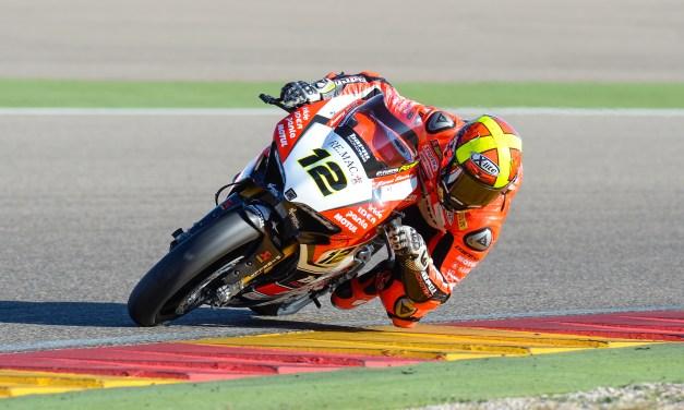Xavi Forés llega lanzado a la cita de Superbikes en MotorLand