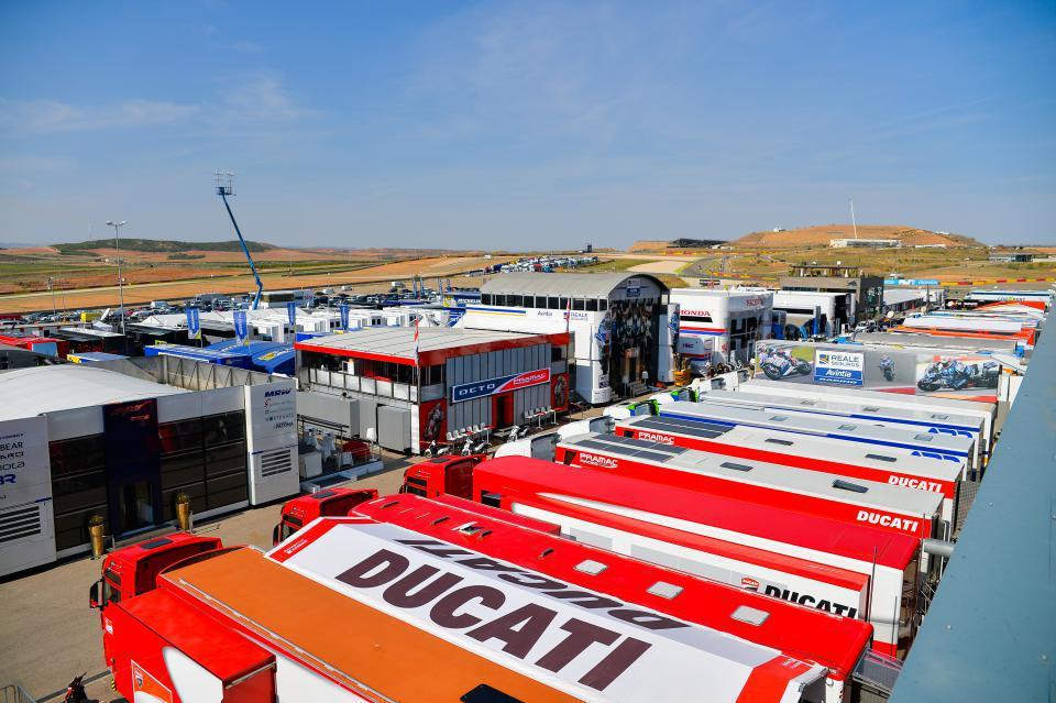 A la venta las entradas VIP de Superbikes y del Gran Premio Movistar de Aragón de MotoGP
